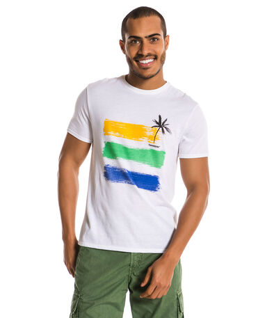HAVAIANAS T-SHIRT WATERCOLOR