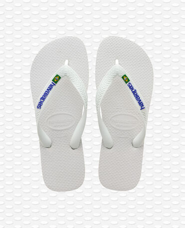 Havaianas Brasil Logo - Flip Flops - Weiß