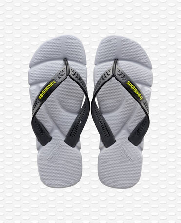 Havaianas Power - steel grey/grey - Flip flops - Men