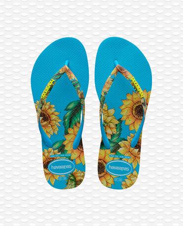 Havaianas Slim Sensation - Turquoise Blue Flip flops Women