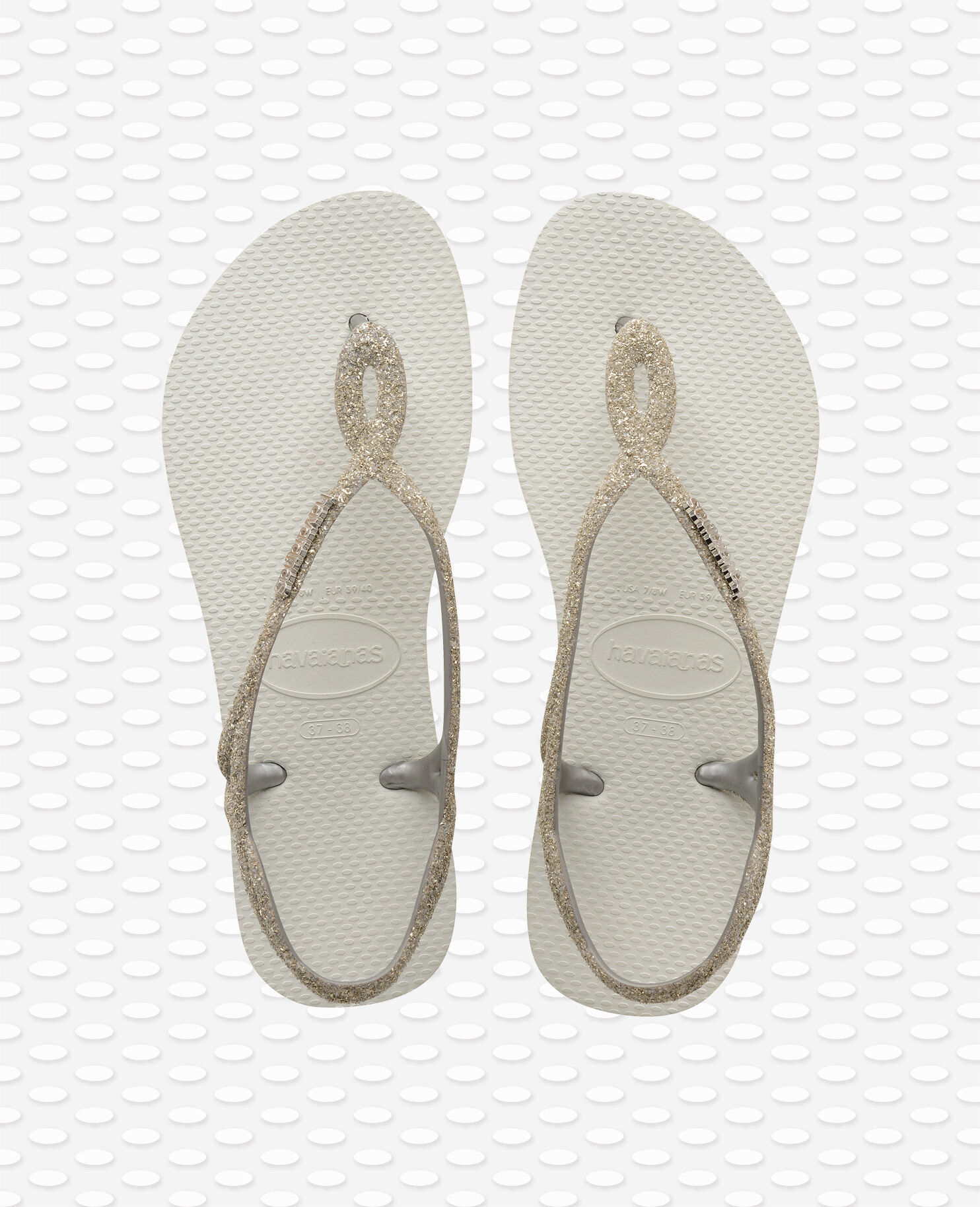Havaianas Womens Luna Special Flip Flops Black Sandal