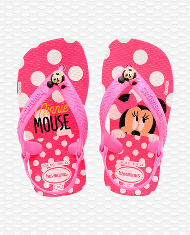 Havaianas Baby Disney Classics II - Flip Flops - weißes / rosa Mehl - Kinder