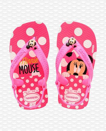 Havaianas Baby Disney Classics II - white/pink flour - Flip flops - Kids