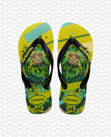 Havaianas Ipe - Neon Yellow/Black - Flip Flops - Women