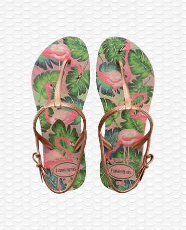 Havaianas Freedom Print - Rose nude - Sandals - Women
