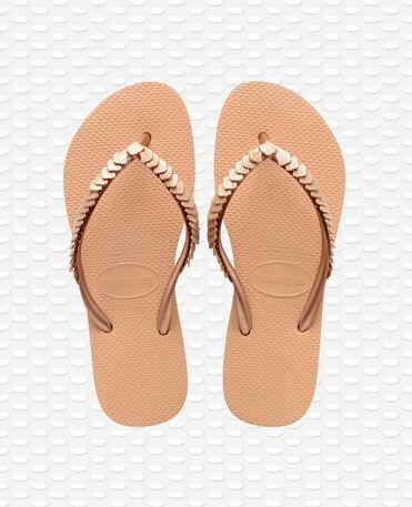 Havaianas Slim Shell Mesh - Flip flops - Orange - Damen
