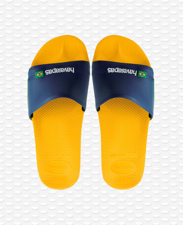 Havaianas Slide Brasil - Banana yellow - Flip flops - Men