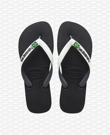 Havaianas Brasil Mix - Black/white - Flip flops