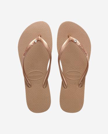 Havaianas Slim Crystal Sw II - flip-flops - ROSE GOLD - mujer