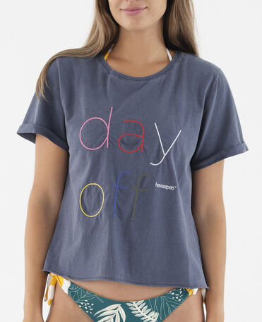 "Havaianas T-Shirt ""Day Off"""
