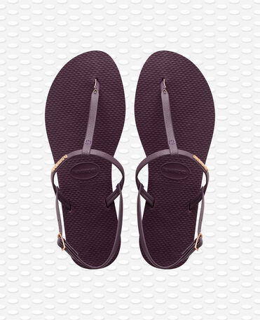 Havaianas You Riviera - Aubergine - Flip Flops - Women