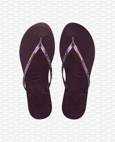 Havaianas You Maxi - Aubergine - Flip Flops - Women