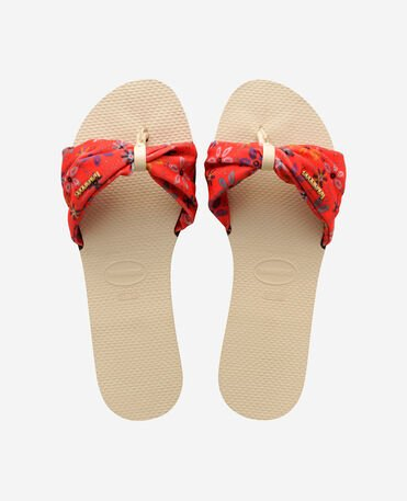 Havaianas You St Tropez - city-sandals - BEIGE - mujer