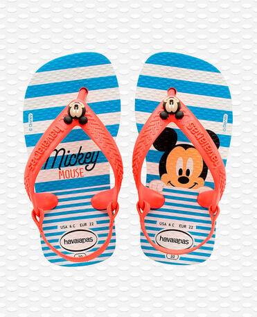 Havaianas Baby Disney Classics II - Flip Flops - weiß / erdbeere - Kinder
