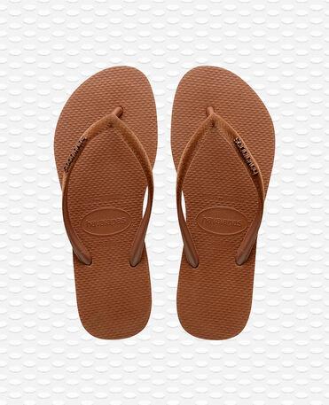 Havaianas Slim Velvet - Flip Flops - Rost - Damen