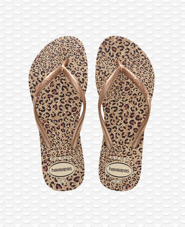 Havaianas slim animals - Beige / Rose Gold - Flip Flops - Women