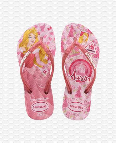 Havaianas Kids Slim Princess - Rose/silver/dark - Flip flops - Kids