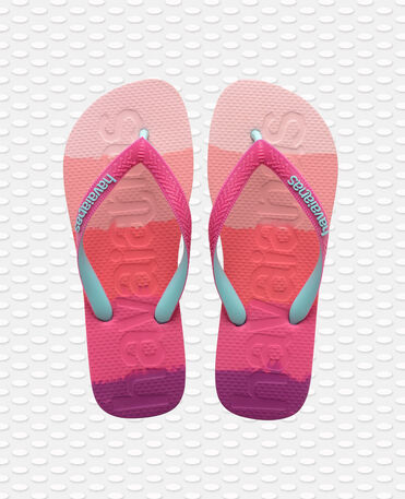 Havaianas Top Logomania - flip-flops - GRADIENT PINK GUM - unisex