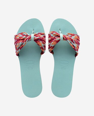 Havaianas You St Tropez Mesh - city-sandals - SKY BLUE - mujer