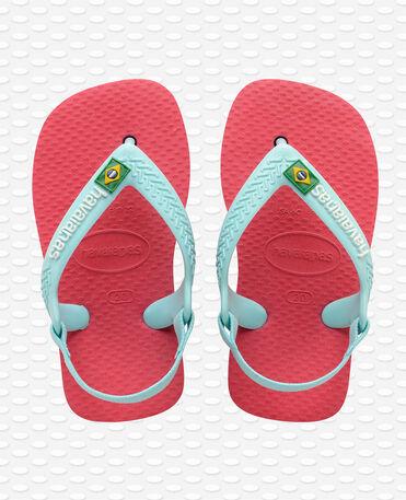 Havaianas Baby Brasil Logo II - Flamingo - Flip flops - Kids