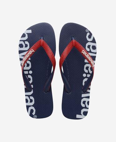Havaianas Top Logomania Hightech - flip-flops - NAVY BLUE - unisex