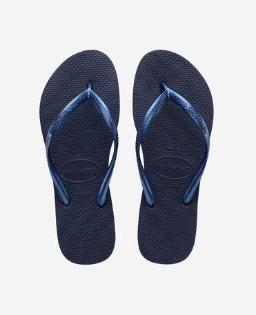 Havaianas Slim - flip-flops - NAVY BLUE - female