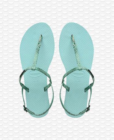 Havaianas You Riviera Croco - Ice Blue - Flip Flops - Women