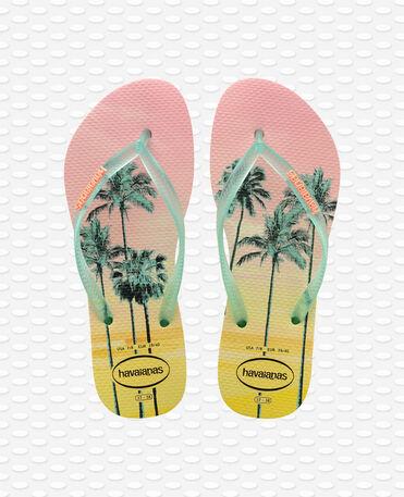 Havaianas Slim Paisage - Pollen Yellow - Flip Flops - Women