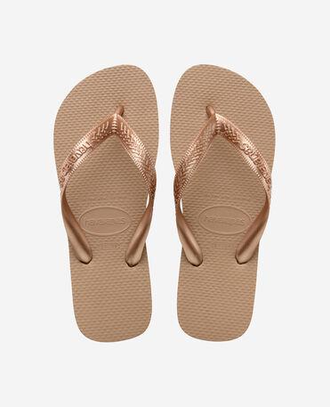 Havaianas Top Tiras - flip-flops - ROSE GOLD - mujer