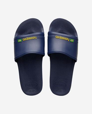 Havaianas Slide Brasil - flip-flops - NAVY BLUE - female