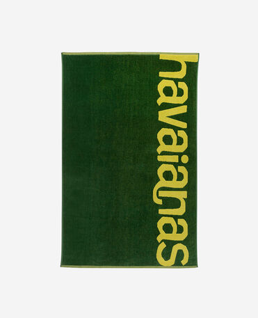 Havaianas Towel Logomania - complehombretaries 1 - GREEN/YELLOW - unisex
