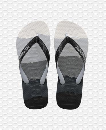Havaianas Top Logomania - flip-flops - GRADIENT BLACK - unisex