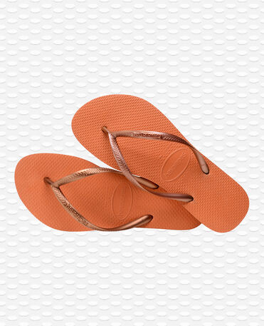 Havaianas Slim - Orange Bronze - Flip Flops - Women
