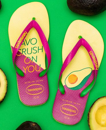 Havaianas Top Cool - Pollen Yellow / Rose Gold - Flip Flops - Women