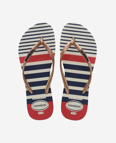 Havaianas Slim Nautical - flip-flops - GOLD - unisex