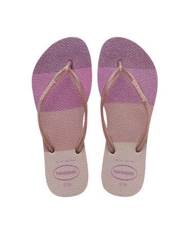Havaianas Slim Palette Glow - flip-flops - CANDY PINK - mujer