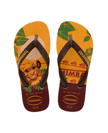 HAVAIANAS TOP KIDS RE LEONE.