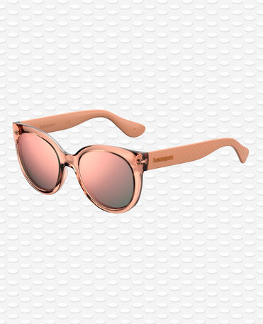 Havaianas Eyewear Noronha Mirrored Gri - Occhiali di Sole - Rosa Pink Ballet- Donna