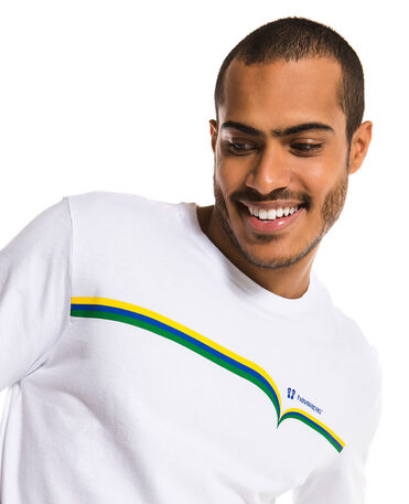 HAVAIANAS TSHIRT FRONT LINES BRASIL