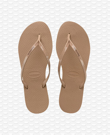 Havaianas You Metallic - Rose Gold - Flip Flops - Women