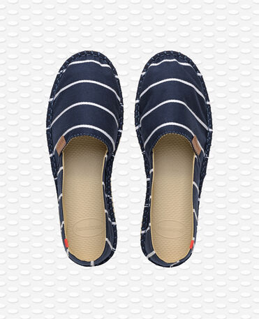 Havaianas Origine Stripes - Navy blue - Espadrilles - Men