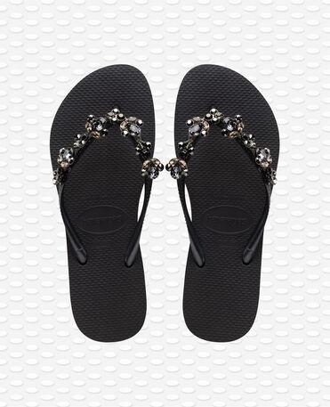 Havaianas Slim Capri III - Black Flip flops Women