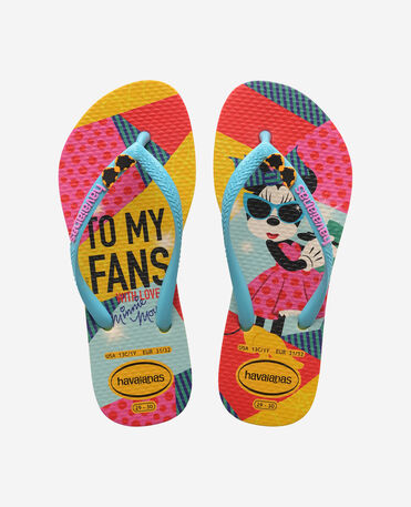 Havaianas Kids Disney Cool - flip-flops - GOLD YELLOW - niño