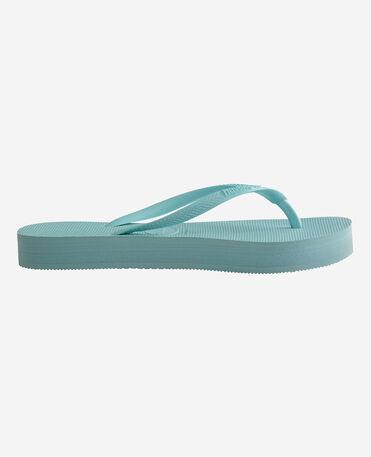 Havaianas Slim Flatform - flip-flops - SKY BLUE - mujer