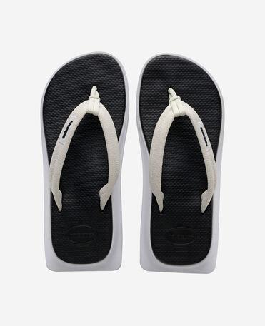Havaianas Tradi Zori - flip-flops - BLACK/WHITE - unisex