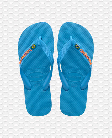 Havaianas Brasil Layers - flip-flops - TURQUOISE - unisex