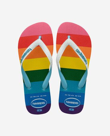 Havaianas Top Pride Allover - flip-flops - BLUE - unisex