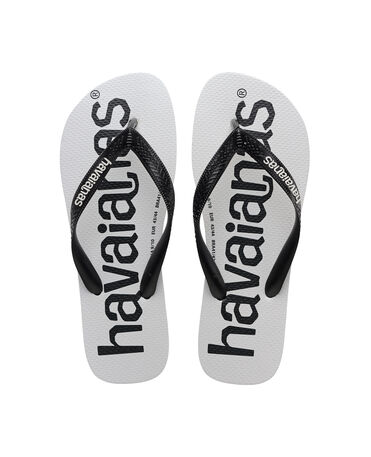 Havaianas Top Logomania - flip-flops - BLACK/BLACK - unisex