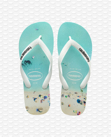 Havaianas Hype - white/water - Flip flops - Men