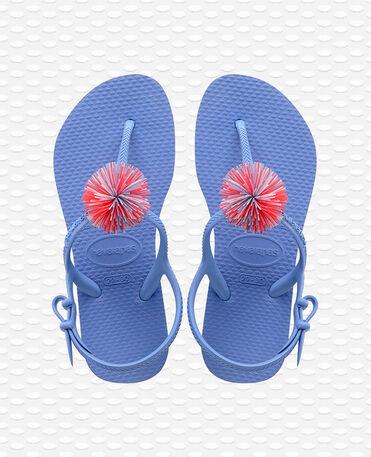 Havaianas Kids Freedom SL Pompom - Provence blue - Sandals - Kids